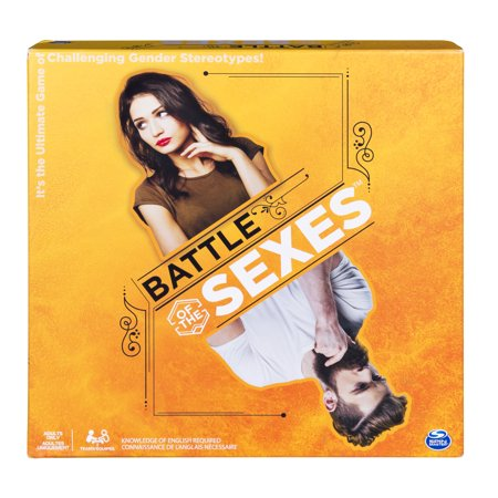 Battle of the Sexes Board Game, Hilarious and Eye-Opening Adult Party Game for Players Aged 16 and (Magi Nation Battle For The Moonlands Game)