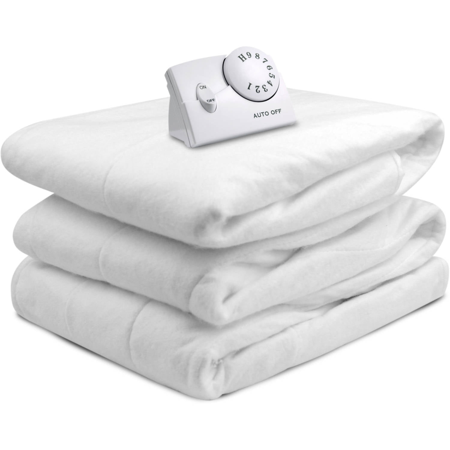 Biddeford Heated Mattress Pad, 1 Each White Twin   Walmart.