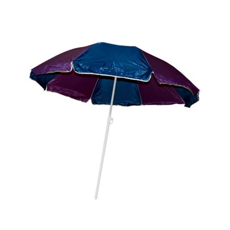Bulk Buys Ol499 1 Large Beach Umbrella With Two Part Pole