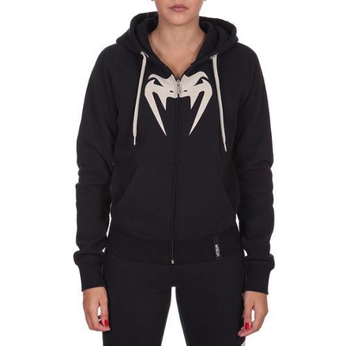 Venum Women's Infinity Zip-Up Hoodie - XL - Black/White