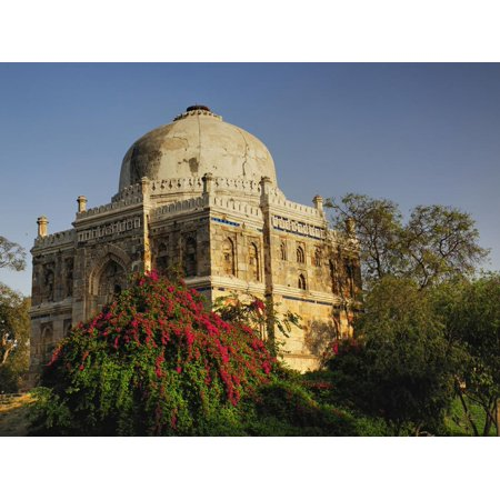 Mosque of Sheesh Gumbad, Lodhi Gardens, New Delhi, India Print Wall Art By Adam Jones