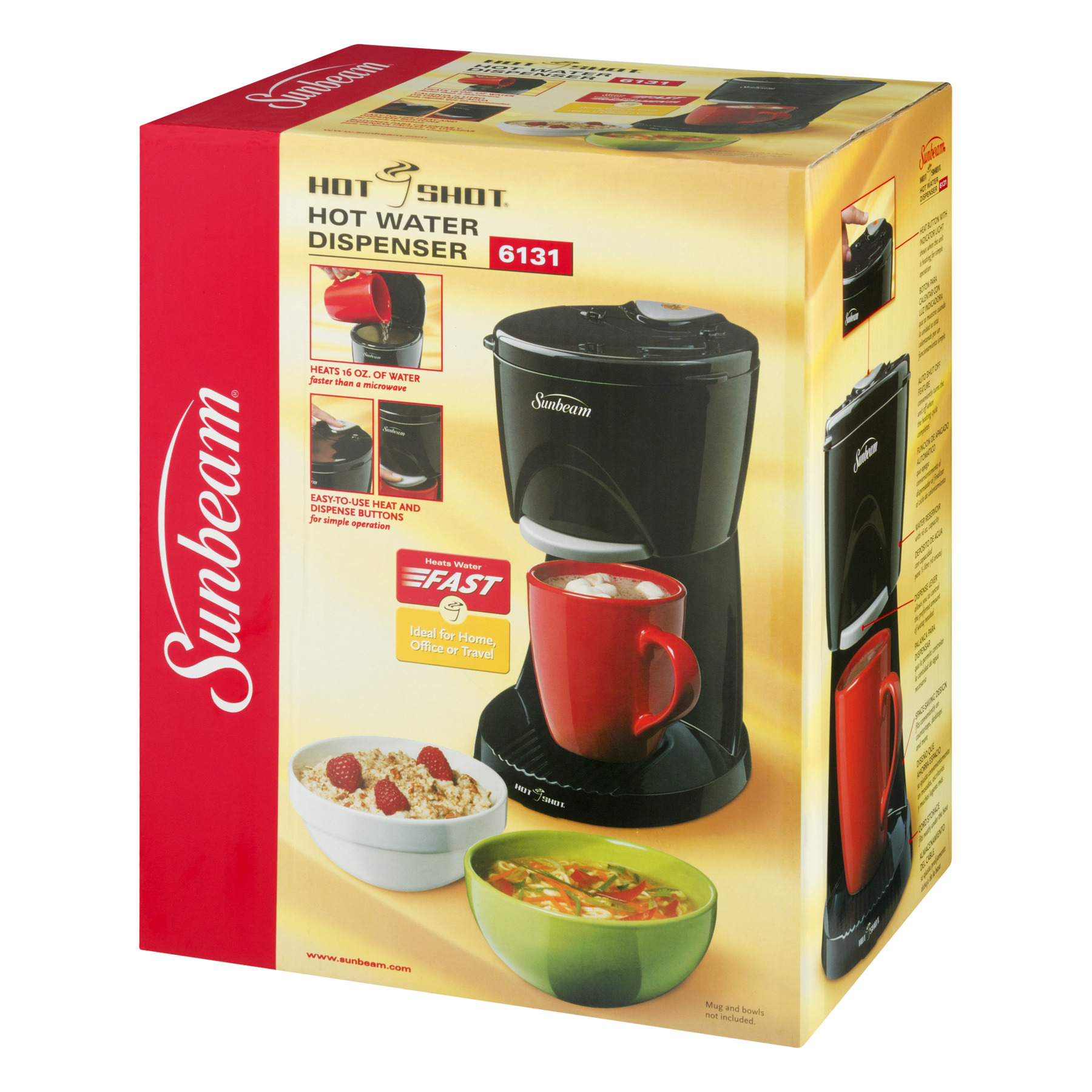 Dual Coffee Maker Hot Water Dispenser : One Cup Hot Water Dispenser Australia - Automatic Soap Dispenser
