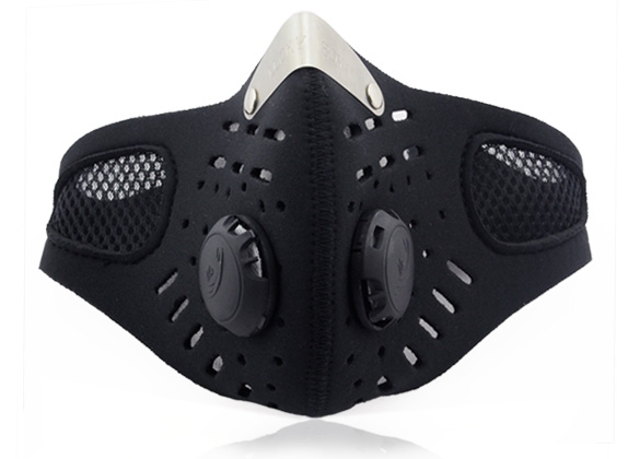 Ski Anti-pollution Face Mask SportMotorcycle Mouth-muffle Dustproof With Filter ROJE by