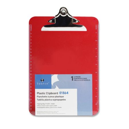 Sparco Transparent Clipboard 01864