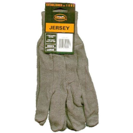 - Boss Gloves Brown Jersey Gloves, 3pk