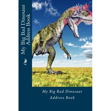 My Big Bad Dinosaur Address Book