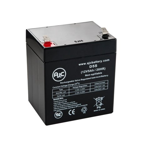 Powerware Unisys Upr6000 D 12V 5Ah Ups Battery   This Is An Ajc Brand  174  Replacement