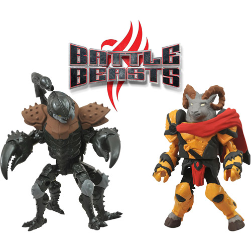Battle Beasts Minimates Series 1: Vorin and Vachonus Two Pack Action Figures