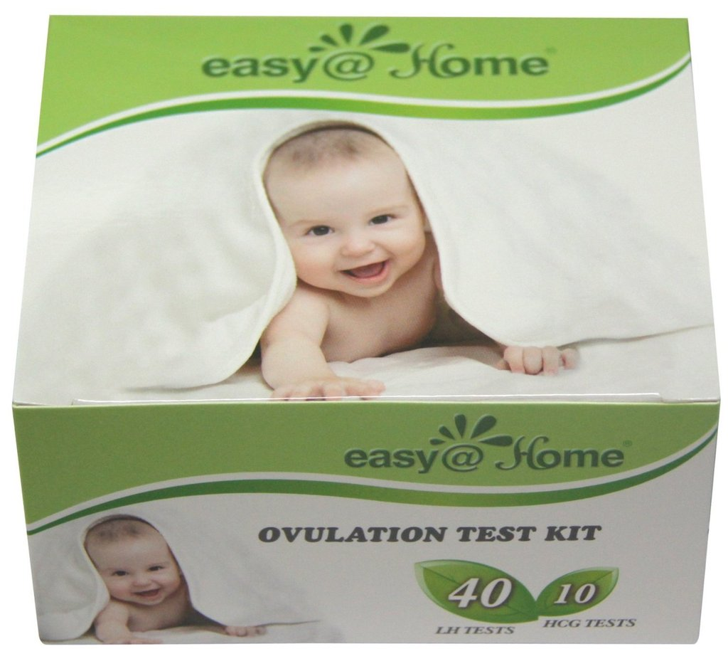 Easy@Home 40 Ovulation Test Strips and 10 Pregnancy Test Strips Kit - The Reliable Ovulation Predictor Kit (40 LH + 10 HCG)…
