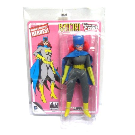 Batman Retro 8 Inch Series 3 Action Figure Batgirl, By Figures Toy Company (Batgirl 20)