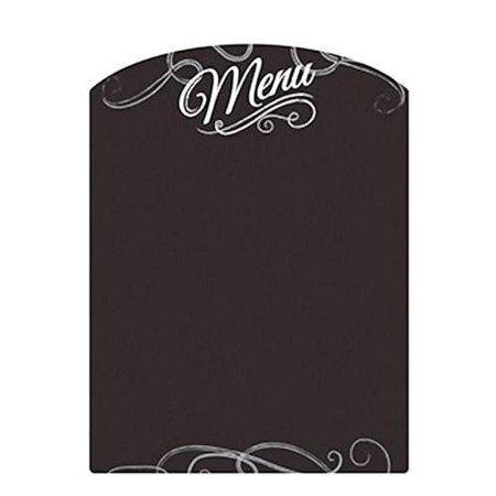 Menu Chalkboard Wall Sticker, 11-Inch
