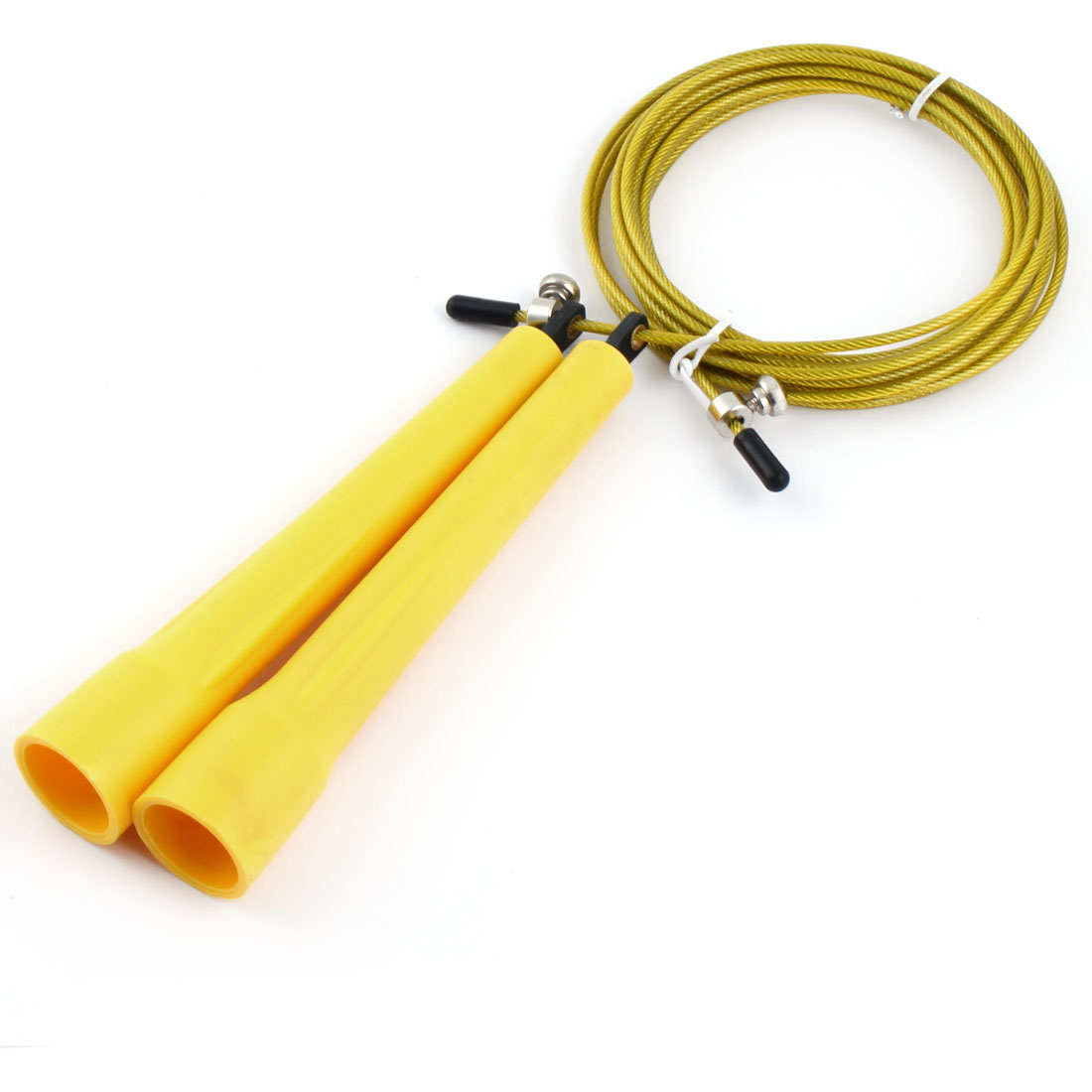 LeTEK Authorized School Sports Fitness Training Skipping Jump Rope Wire Yellow