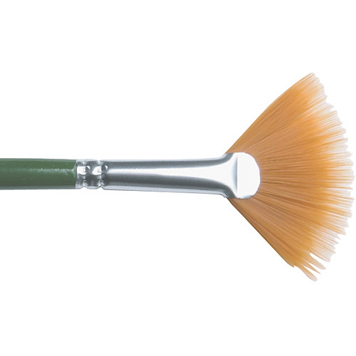 Plaid 1-Stroke Brush, #4 Fan