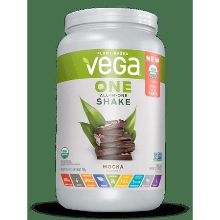 (Vega One Organic Vegan Protein Powder, Mocha, 20g Protein, 1.6 Lb)