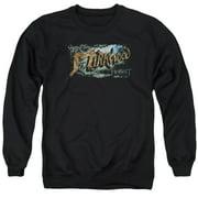 Hobbit Greetings From Mirkwood Mens Crewneck Sweatshirt