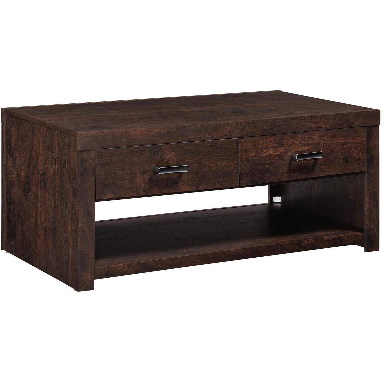 Altra Westbrook Coffee Table Dark Walnut Walmart