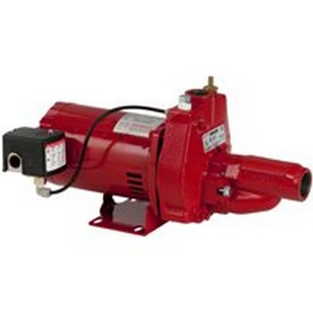 Franklin Electric Red Lion Rjc 50 1 2Hp Convertible Jet Pump