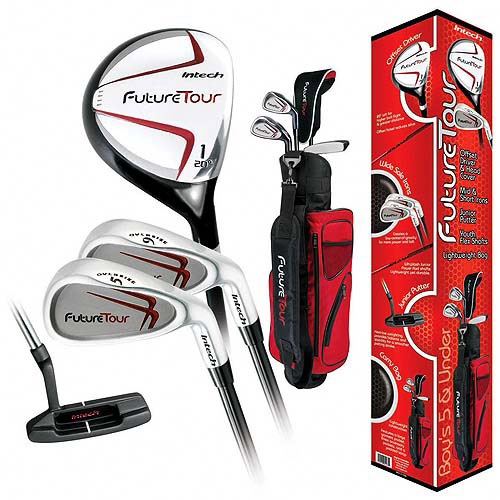 Knight Intech Future Tour Kid's Junior Golf Clubs, LH