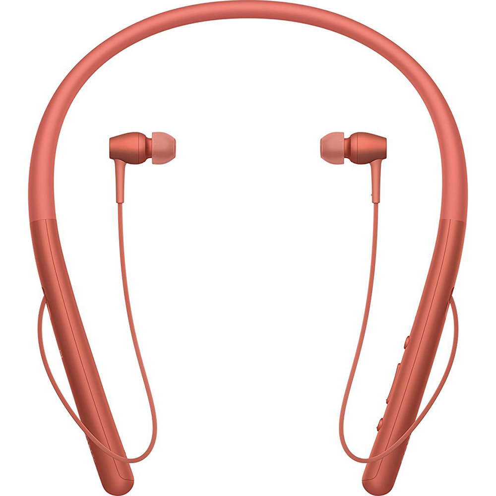 Sony WIH700/R Hi-Res Wireless Bluetooth In Ear Headphones, Red