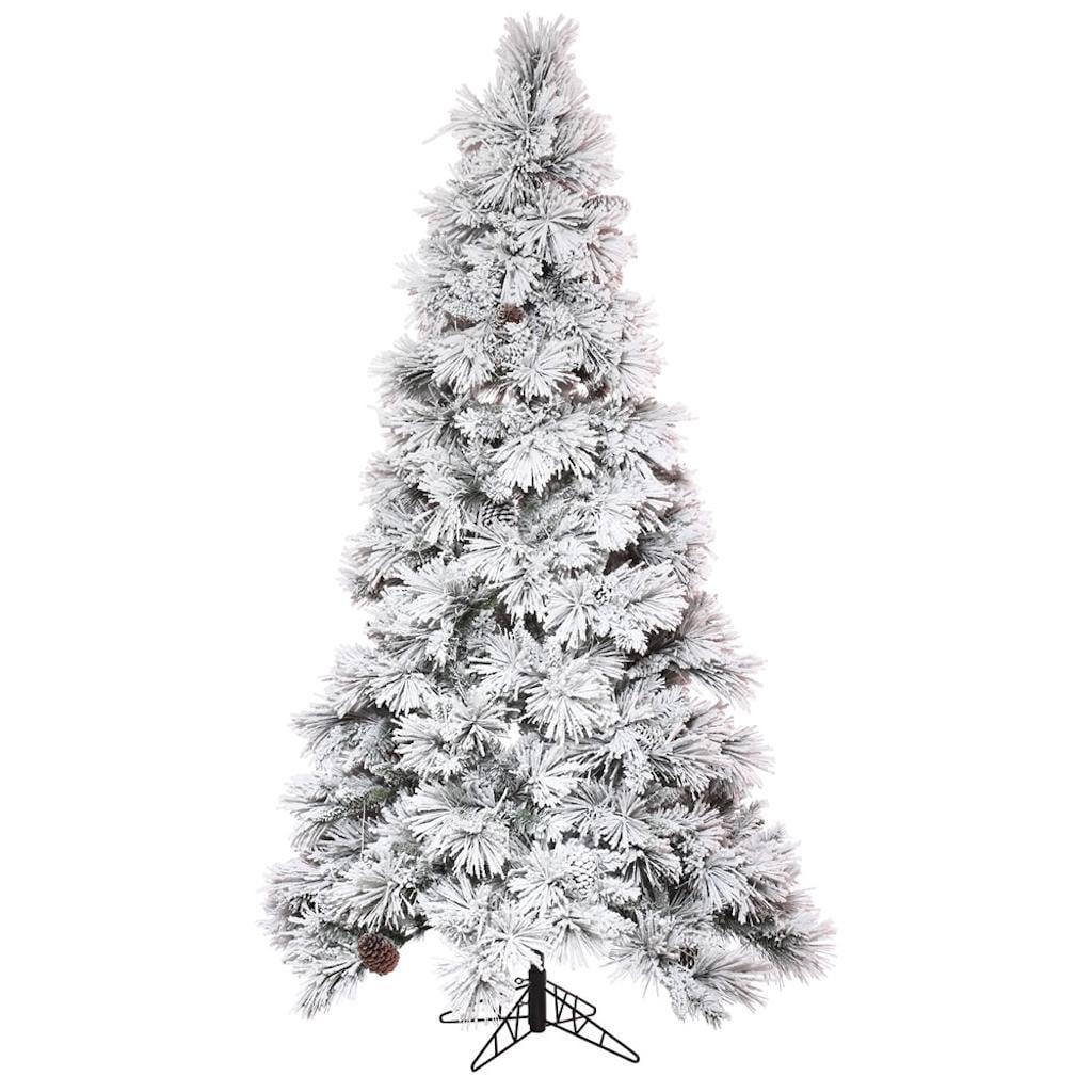 "Vickerman 497395 - 9' x 59"" Flocked Atka Pine Tree Christmas Tree (K171180)"
