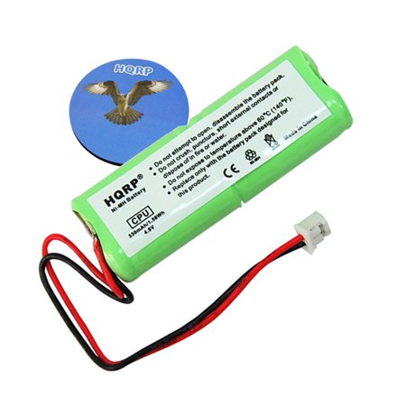 HQRP Battery for Dogtra 1200 Series 1202NC 1202-NCP 1400-NCP 1402-NCP Remote Controlled Dog Training Collar Receiver + HQRP Coaster