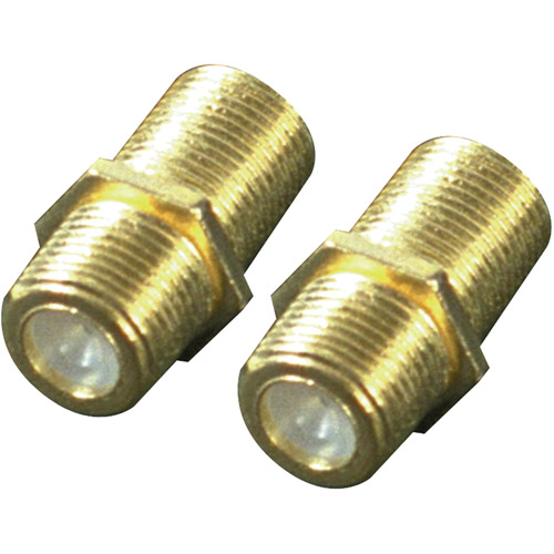 RCA VH66N Coaxial Cable Feed Connectors, 2pk