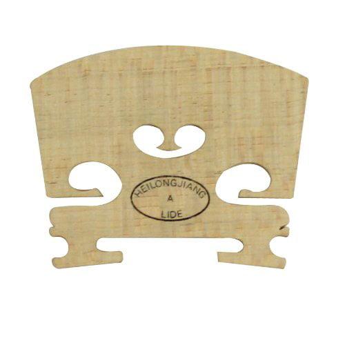 Student Violin Bridge Fine Maple Size 3 4, Fine hard maple By Lyra by