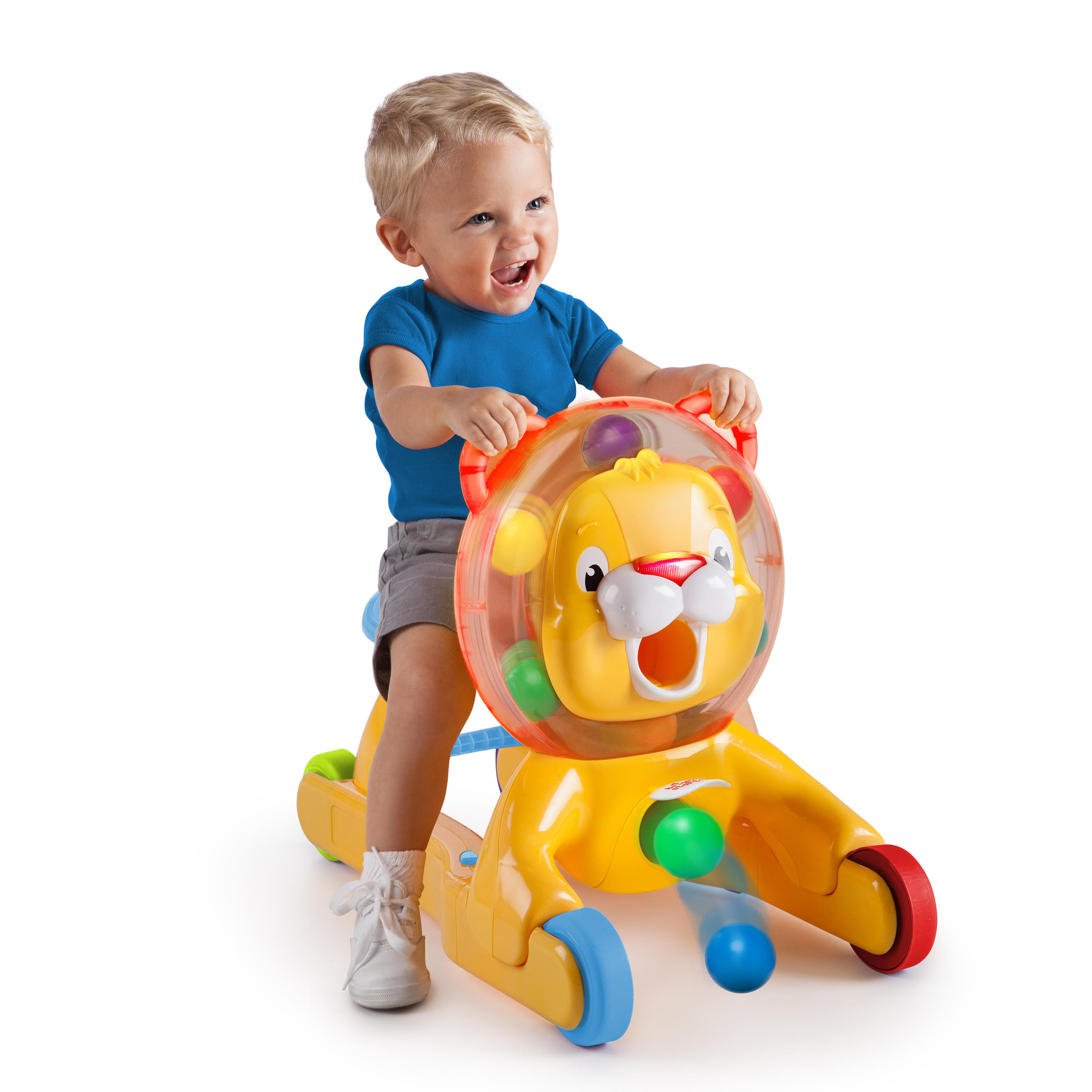8e19a5fb6 Bright Starts 3 In 1 Step  n Ride Lion - Walmart.com