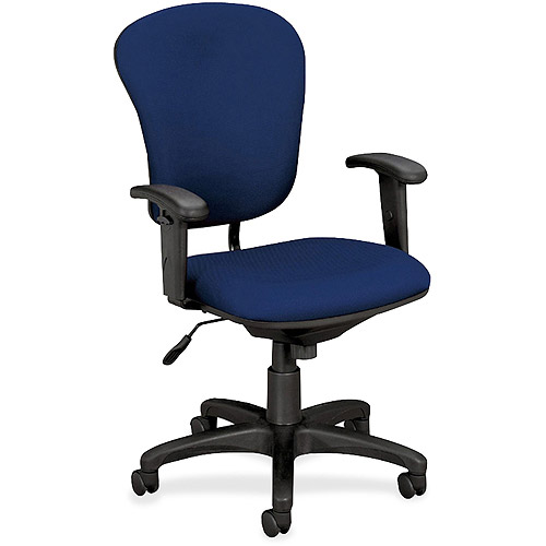 Basyx by HON Mid-Back Task Chair with Arms
