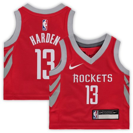 c7a641c2d613 James Harden Houston Rockets Nike Infant Replica Jersey Red - Icon ...