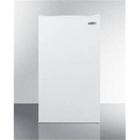 Summit Appliance FF471WBI 19 in. Freestanding Counter Depth Compact Refrigerator, White