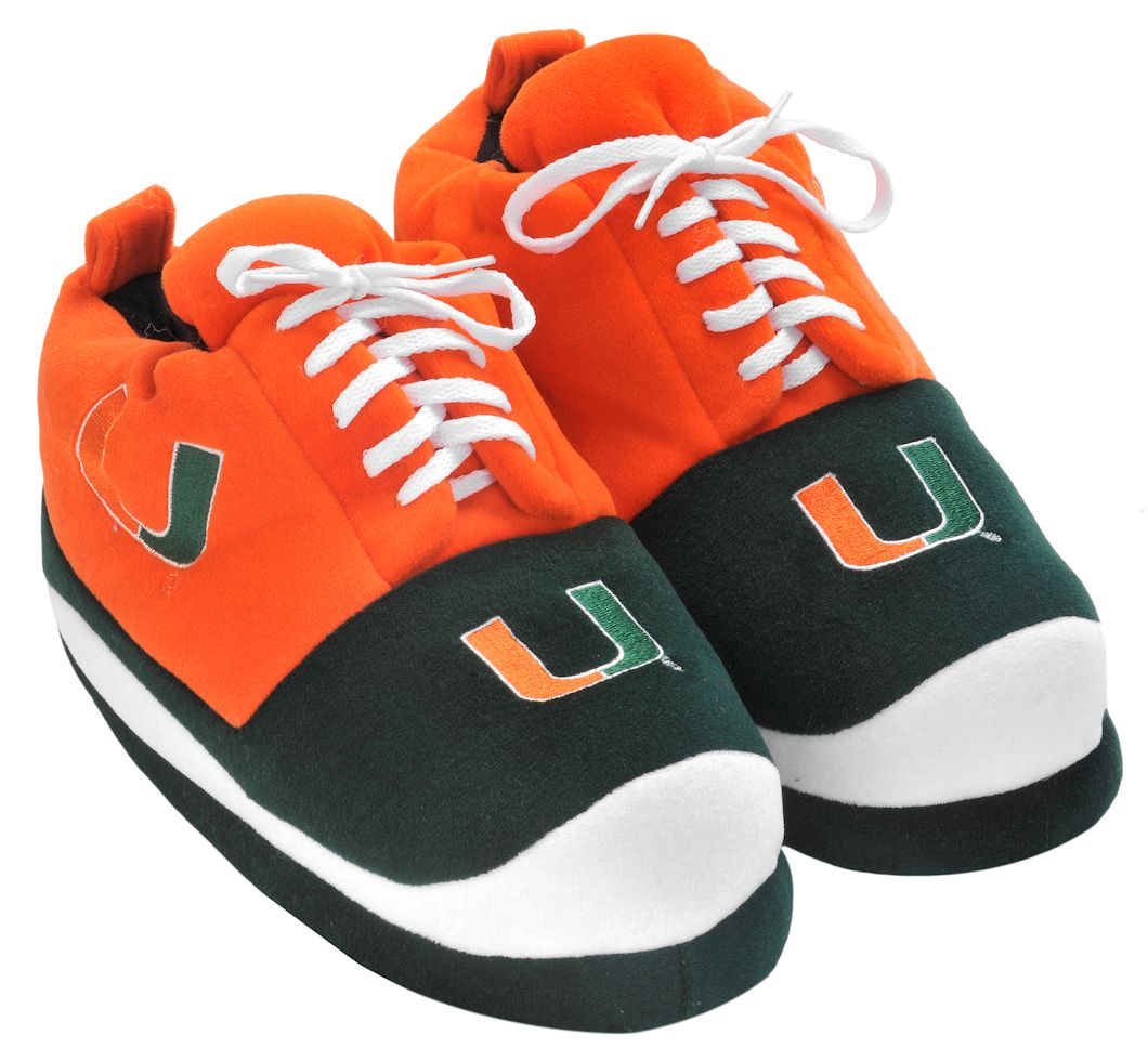 Miami Hurricanes Slippers - Mens Sneaker