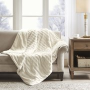 Beautyrest York Faux Fur Weighted All Season Blanket