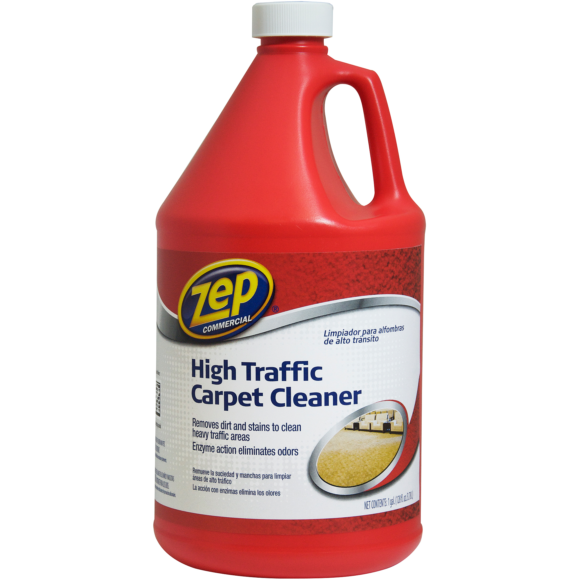 carpet cleaner solution. zep mercial high traffic carpet cleaner 1 gal solution e