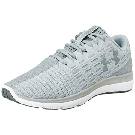 Under Armour Mens UA Threadborne Slingflex Overcast Grey/White/Steel Running Shoe - 8