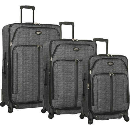 Travel Gear Spinner Luggage Set