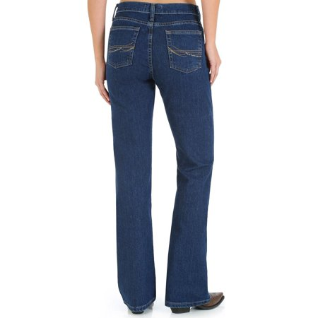 Wrangler Women's As Real Classic Fit Bootcut Jeans - (Classic Raw Denim)