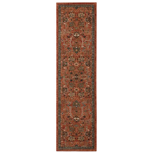 Karastan Spice Market Keralam Spice Red Cream Area Rug by Mohwak Home
