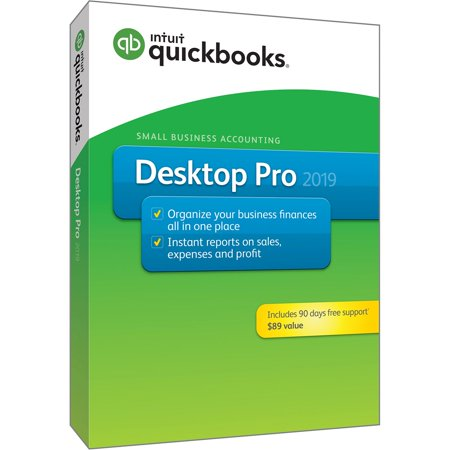Intuit QuickBooks Desktop Pro 2019