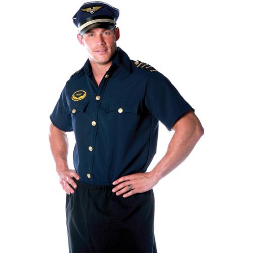 Pilot Shirt Men's Adult Halloween Costume
