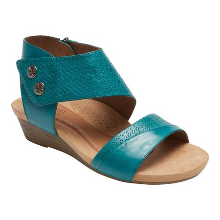 Rockport Cobb Hill Hollywood Cuff Wedge Sandals xvKY2