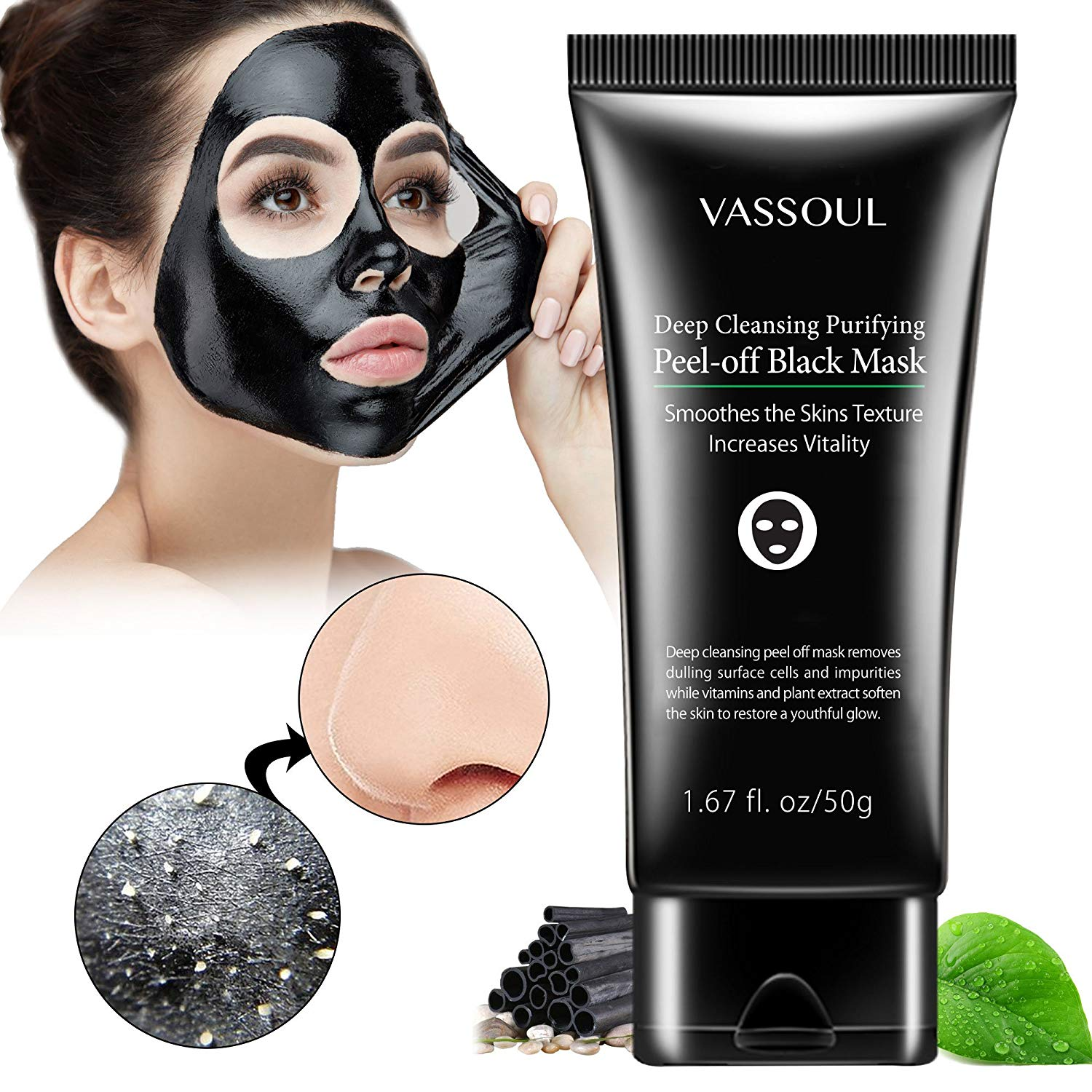 black mask facial cleanser