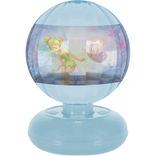 Disney Tinker Bell Motion Lamp, Purple