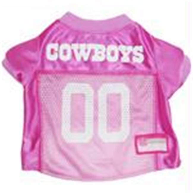 Mirage Pet Products 300-09 PJR-MD Dallas Cowboys Pink Jersey MD