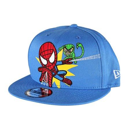 promo code 8b02c 46dad Tokidoki - Tokidoki Marvel Spider-man New Era 9Fifty Men s Blue Embroidered Snapback  Hat - Walmart.com