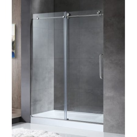 Anzzi Sd Az13 02 Madam 60 Wide X 76 High Sliding Frameless Shower