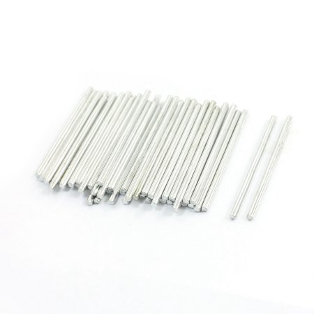 Unique Bargains Rc Toy Car Frame Stainless Steel Straight Shaft Round Rods 40Mmx2mm 50Pcs