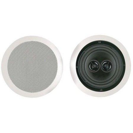Bic America Bicmsr6d 6 5  Dual Voice Coil Stereo Ceiling Speaker