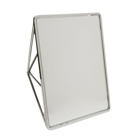 Home Details Geometric Two Way Vanity Mirror 9.37 X 7.4 X 2.95 inch - Chrome