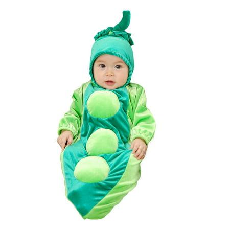 Green Pea Costume (Pea In The Pod Bunting)